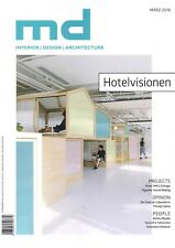 md Magazin 3.2018 +++ interior | design | architecture +++ wie neu +++