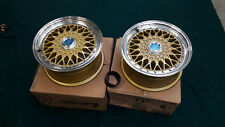Lenso WHEELS RIMS WHEELS BSX GOLD 15 x 70 4x100 et+20 2 Piece