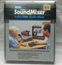 Video Tape Audio Mixer with Mic and Attachments, Radio Shack, New(discontinued)