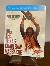 The Texas Chainsaw Massacre Steelbook (Blu-ray, Limited Edition) Factory Sealed