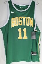 Authentic Nike 2018 Boston Celtics #11 Kyrie Irving NBA Swingman Jersey Size 2XL