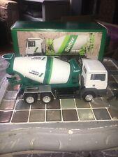 Conrad Nzg 1.50 Stetter Cement Mixer Truck Man Tga 3 Axle Mint Boxed
