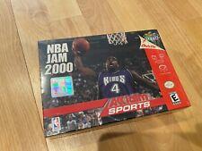 NBA Jam 2000 (Nintendo 64, 1999) Brand New Sealed