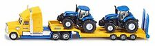 Siku 1805 - Die Cast Camion+2 Trattori New Holland, 1:87 (q9L)