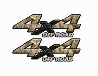 4X4 OFF ROAD Obliteration Camo Decals Bedside Truck Stickers - 2 Pack KM001ORBX