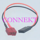 T-Plug (Deans style) Female to JR Futaba Female 20AWG 10CM For Battery charger