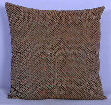 """20"""" VINTAGE KANTHA QUILTED THROW TOSS PILLOW CUSHION COVER ABSTRACT DESIGN DECOR"""