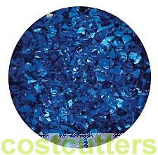 Glitter Flakes Blue 1kg