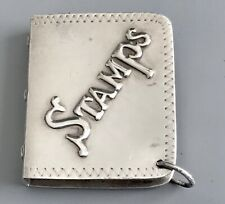 Antique Sterling Silver Vesta Case / Stamp Safe Box / Pocket Watch Chain Fob