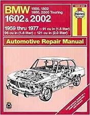 Haynes BMW 02 SERIES 1502 1602 2002 TI C Owners Service Repair Manual Handbook