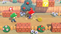 Super Mario Update -  35 Coins + 5 Pipes Animal Crossing:New Horizons