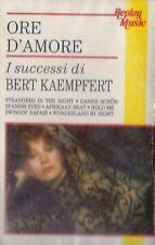 MUSICASSETTA      BERT KAEMPFERT - ORE D'AMORE         sigillata  (24)