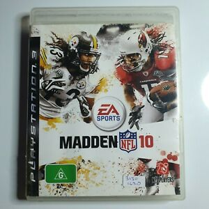 Madden 10 | Sony PS3/PlayStation 3 | Video Game | EA Sports | American Football
