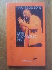 Emil Abossolo MBO Champs de sons - Harlem renaissance 2015 ttbe