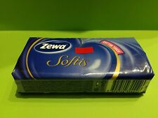 6 packs x 10 Handkerchiefs Taschentücher ZEWA 4Ply with Cotton Fibers Tissues