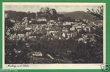 Marburg Lahn Panorama vor 1939 ungelaufen, # 2 Hessen Altstadt