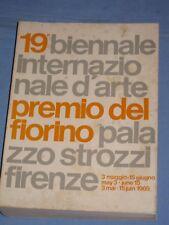 19° BIENNALE D' ARTE PREMIO DEL FIORINO PALAZZO STROZZI FIRENZE (F1)