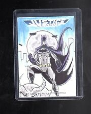 2016 Cryptozoic DC Justice league sketch card  by Marcio Cabreira