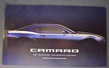 2011 Chevrolet Camaro XM Accessory Package Brochure Folder Excellent Original 11