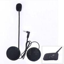 Helmet Headset Mic Speaker for Motorbike Bluetooth Intercom BT V6 1200m 6 Riders
