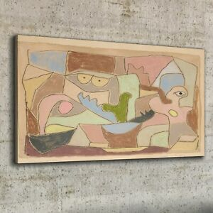 Canvas Print 100x50 True Also For Plants Paul Klee Image Wall Art Home Decor