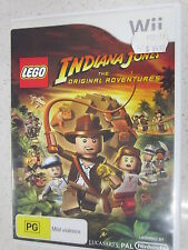 lego indiana jones the original roventures wii