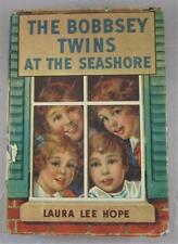 BOBBSEY TWINS #2 AT THE SEASHORE LAURA LEE HOPE 1940 SAALFIELD ED DJ