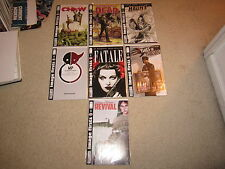 AWESOME IMAGE FIRSTS SET #1REVIVAL,#1WALKING DEAD,#1 CHEW,#1THIEF OF THIEVES!