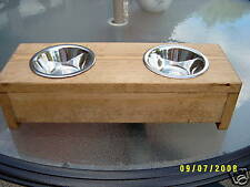 """RAISED PET FEEDER FOR DOGS AND CATS 4"""""""
