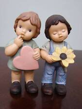 GOEBEL NINA - MARCO FALL IN LOVE FIGURINES BOY & GIRL