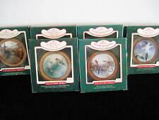 6 Hallmark Keepsake Bird Christmas, Collector Series Ornaments, With Boxes