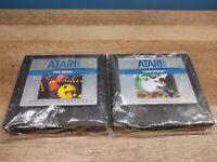 LOT 2 ATARI 5200 GAME TESTED FREE SHIPPING