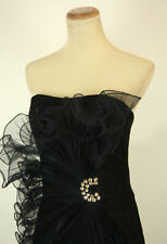 NEW Jovani Size 4 Black $400 Cruise Prom Formal Homecoming Gown Short Cocktail