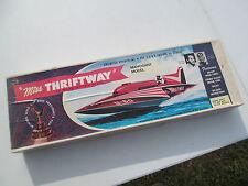 Vintage MT-1 Dumas U-60 Miss Thriftway Hydroplane Model Boat Vintage Mahogany