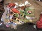 1950s Vintage Tapestry: Small Town