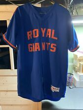 New York Mets Brooklyn Royal Giants Authentic Jersey Authentic Size 48 Majestic