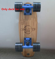 Bamboo Pintail Longboard Deck Blank Skate Board DECK 40x13.5cm Deck