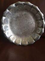 Vintage Silver James W. Tufts Quadruple Plate Basket Server Serving Footed Dish