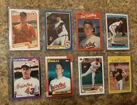 (8) Curt Schilling 1989 Donruss 1990 Fleer Topps Score Upper Rookie card lot RC