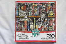 Buffalo Games The Cats of Charles Wyoscki Frederick The Literate 750 Piece...