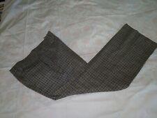 Vintage 70's Pendleton Wool Plaid/Check Flared Leg Slacks Mens 30?x31 Disco