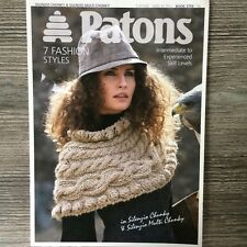 Patons Knitting Pattern Booklet: 7 Ladies Designs, Chunky & Super Chunky 3795