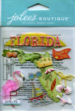 "Jolee's Boutique ""FLORIDA"" Dimensional Scrapbooking Sticker - AA1"