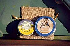 GUNN METAL Beard Balm and Moustache Wax Set in ORANGE GROVE SCENT Free Shipping