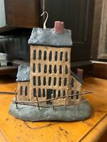 Folk Art By David Saltbox House Light Primitive Farmhouse Light