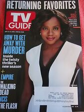 TV GUIDE MAGAZINE VIOLA DAVIS HOW TO GET AWAY WITH MURDER EMPIRE THE FLASH