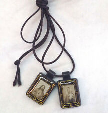 Scapular Sacred Heart & Our Lady of Mt Carmel