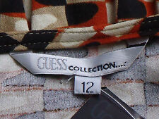 GUESS MultiColouredSmartStretchS/sWrap Size12rrp$169NWT