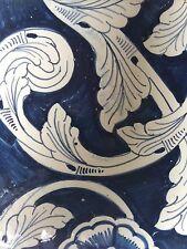 Tile Antique Kitchen Bathroom. Blue And White Floral Motif. Many Tiles Listed