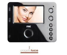 Videocitofono Urmet Mìro 2 Voice monitor 4,3 Vivavoce colore Nero 1750/15
